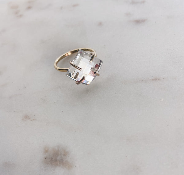 Swarovski Crystal Diamond Ring