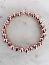 14k Rose Gold Filled Beaded Bracelet (+ bead sizes available)