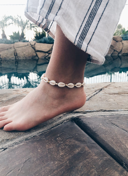 Cowrie Shell Anklet