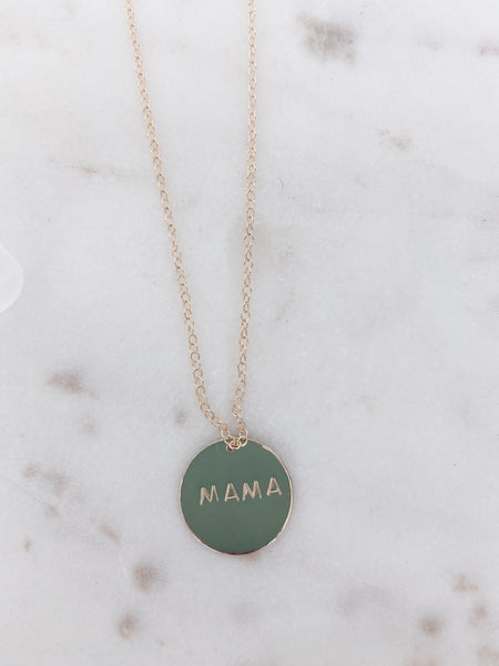 Who's Your Mama Necklace