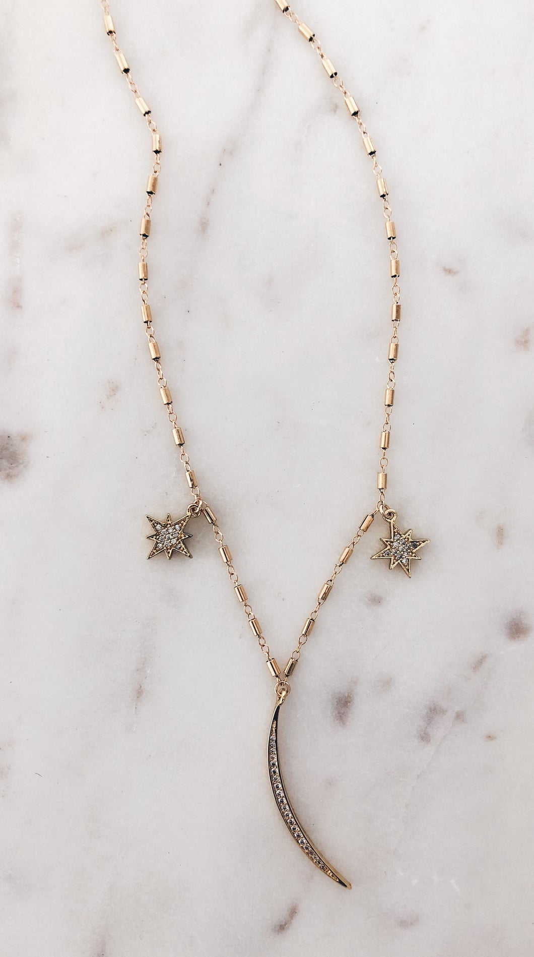 Charms in the Sky Necklace