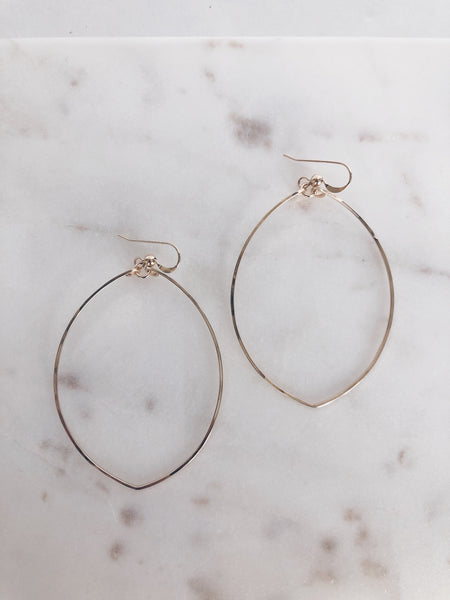 Simple 14k Gold Fill Hoops