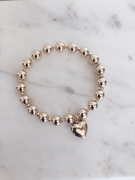 The Heartbreaker Beaded Bracelet