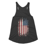 Republic Women's Tri-Blend Racerback Tank