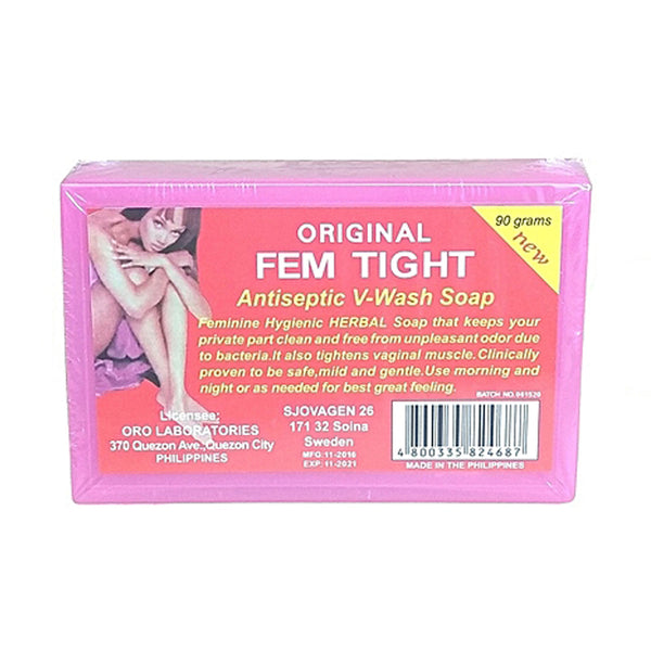 ORIGINAL FEMTIGHT Vagina Tightening/Antiseptic Wash Soap