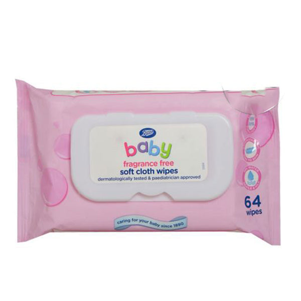 Boots Gently Fragrance Soft Cloth Baby Wipes
