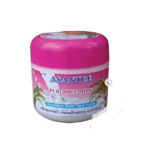 Asantee Pure Rice Milk Spa Salt Scrub