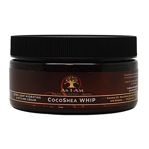 As I Am Cocoa Shea Spray WHIP - Ultra Light Hydrating And Styling Cream