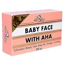 K Brothers Baby Face With AHA Soap