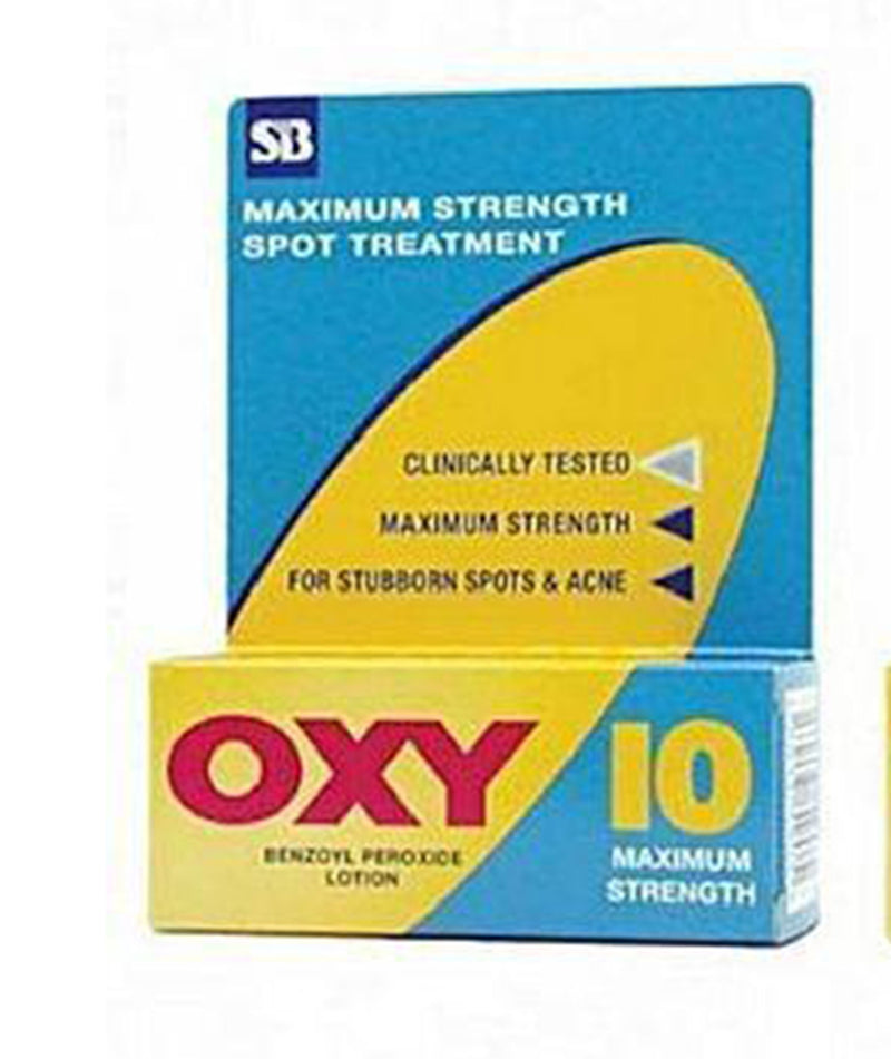 Oxy 10 Benzoyl Peroxide Lotion For Spot & Acne Treatment (30ml)
