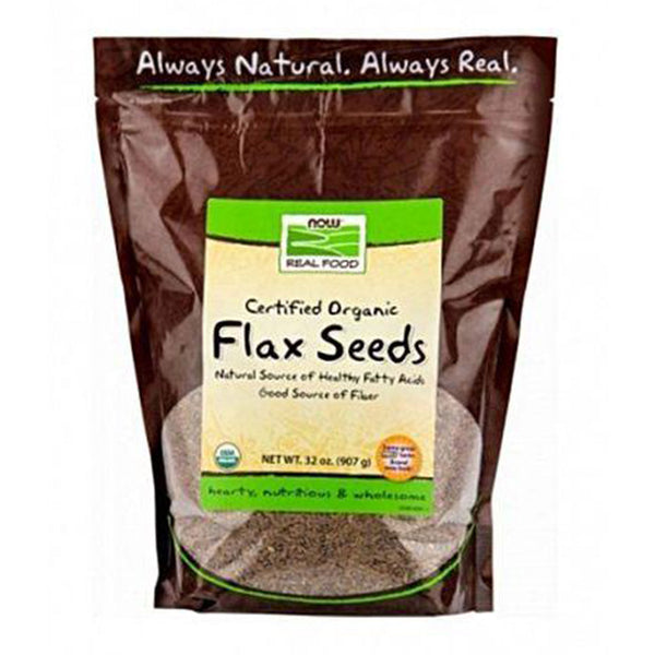 Now Food Organic Golden Flax Seeds