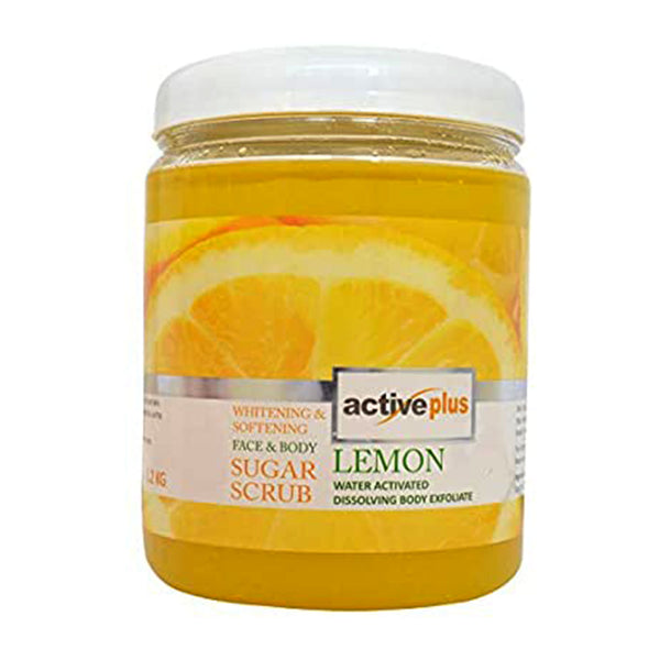 Active Plus Face & Body Sugar Scrub (Lemon)