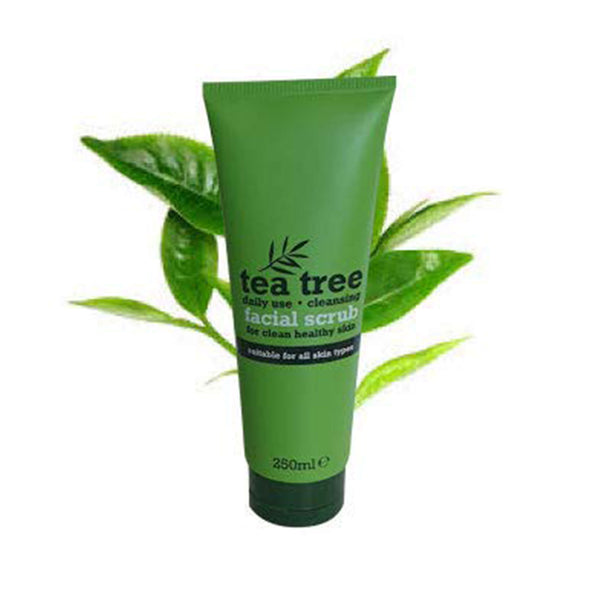 Tea Tree Facial Scrub, 250 ml