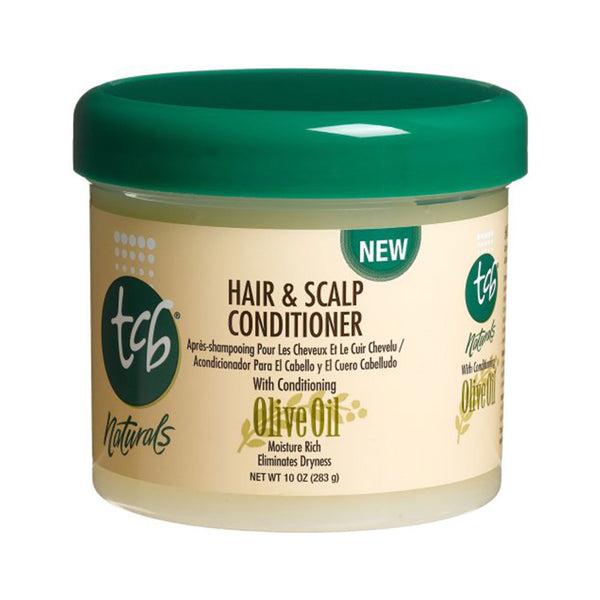 TCB Naturals Hair & Scalp Conditioner, Olive Oil, 10-Ounce