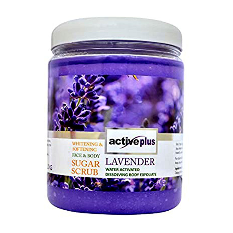 Active Plus Face & Body Sugar Scrub (Lavender)