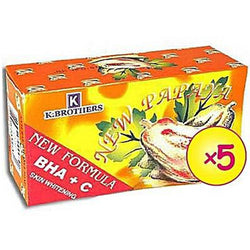 K Brothers New Formula Papaya Soap With BHA + VIT C -