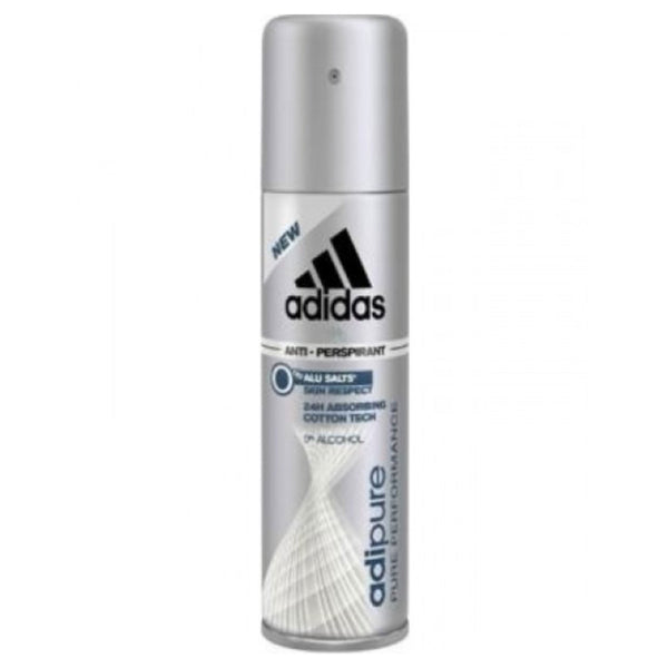 Adidas Adipure 8.4-Ounce Pure Performance Anti-Perspirant Spray 250ml