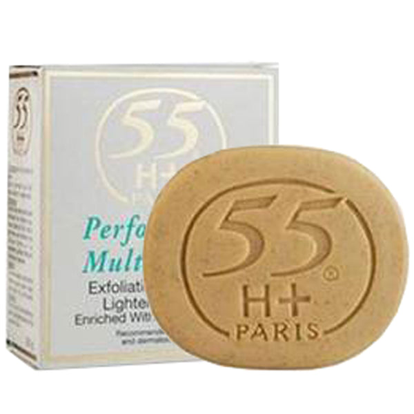 55H+ Performance Multi Action Exfoliating Purifying Lightening Soap