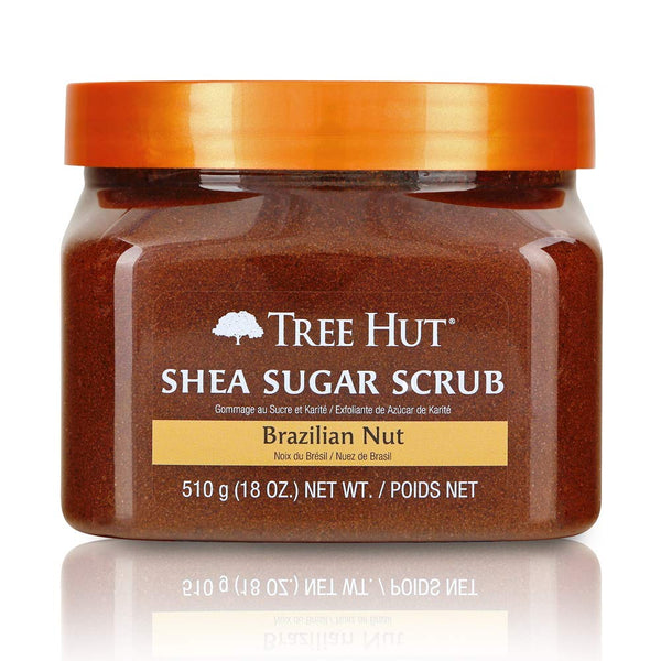 Tree Hut Shea Sugar Scrub Brazilian Nut, 18oz