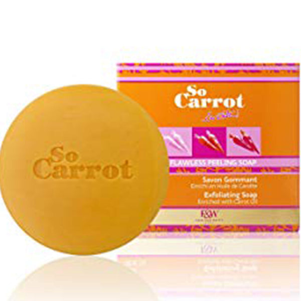 Fair and White So Carrot Exfoliating Soap 200g/ 7oz