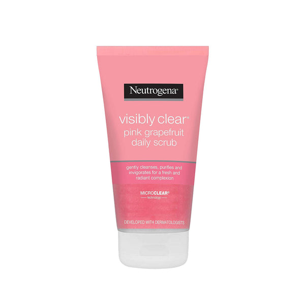 Neutrogena Visibly Clear Pink Grapefruit Daily Scrub, 150ml