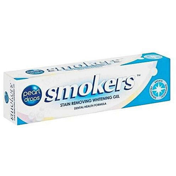 Pearl Drops Smokers Whitening Gel/Toothpaste.