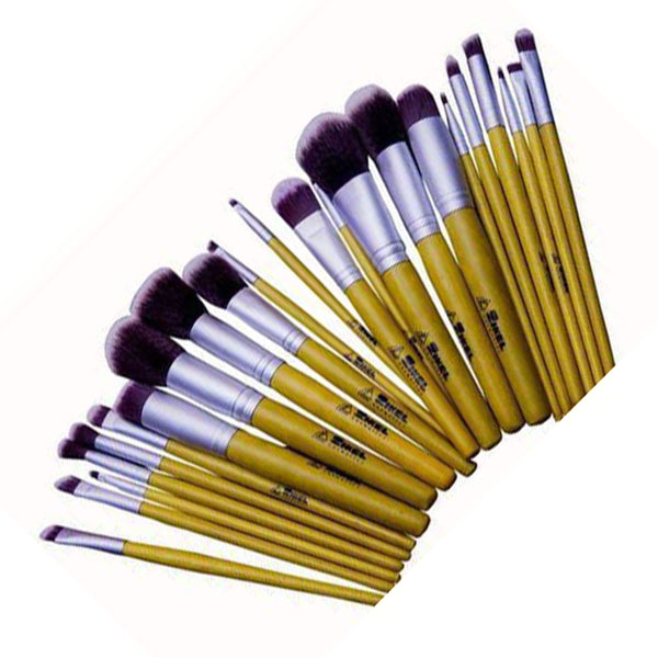 Zikel 23-Pieces 100 Human Hair Kabuki Brush Set