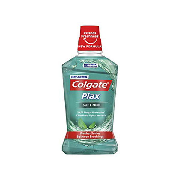 Colgate Plax Soft Mint Green Mouthwash 250ml