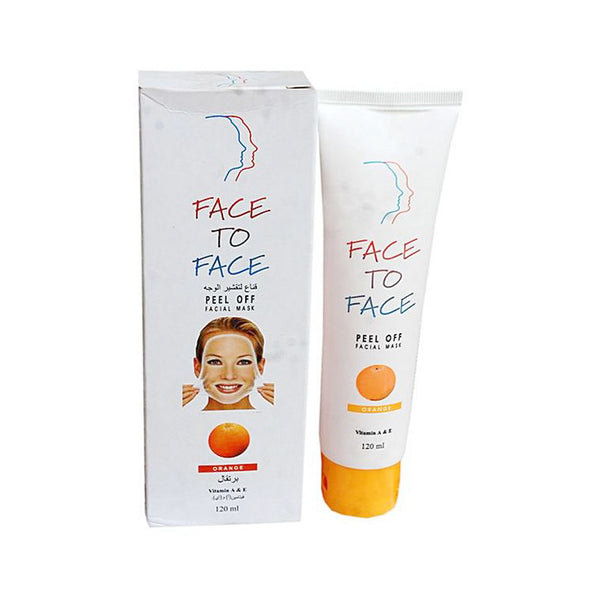 Face To Face Orange  Peel Off Facial Mask