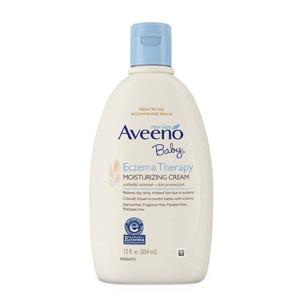 Aveeno Baby Eczema Therapy Moisturizing Cream, 12 Fl. Oz