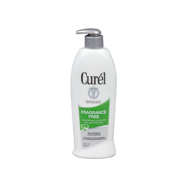 Curel Fragrance-Free Comforting  Lotion for Dry, Sensitive Skin
