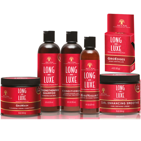 As I Am Long & Luxe 6-pc Set - for Longer and Stronger Hair