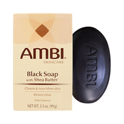 Ambi Black Soap Bar with Shea Butter