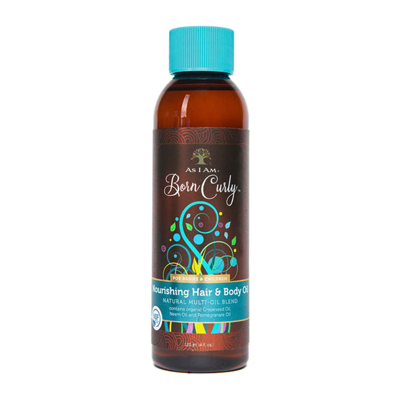 As I Am Born Curly Nourishing Hair Body Oil