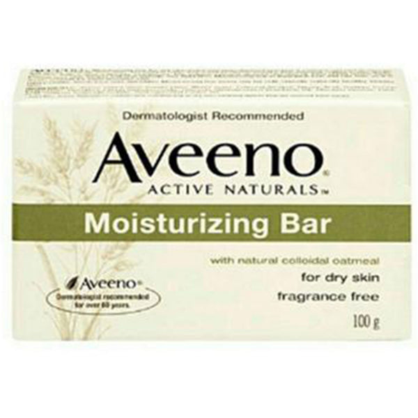 Aveeno Active Naturals Moisturizing Bar Soap 100g