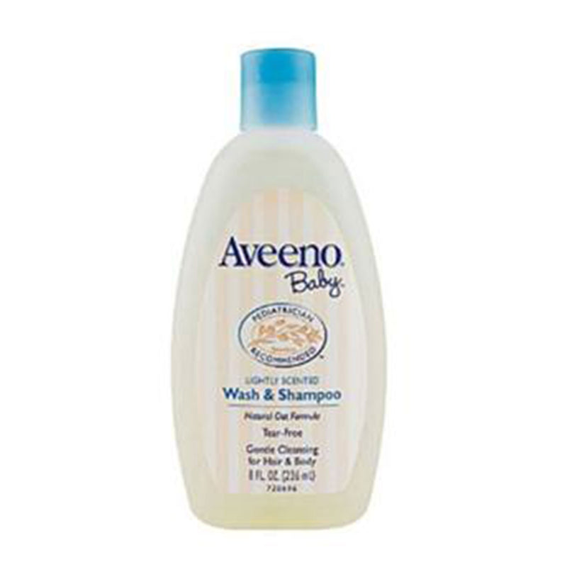Aveeno Baby Wash & Shampoo Lightly Fragranced 8oz