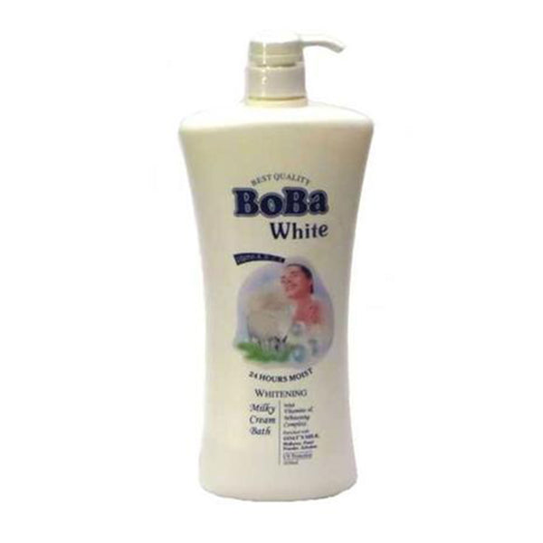 Boba White Whitening Milky Shower Bath Cream