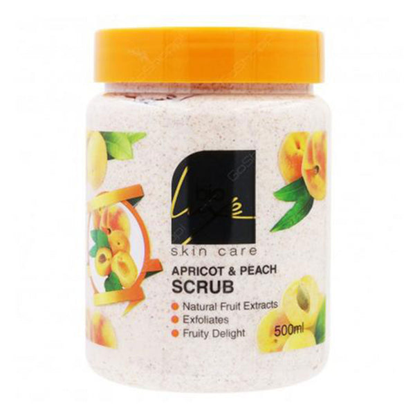Bio Luxe Apricot And Peach Scrub 500ml
