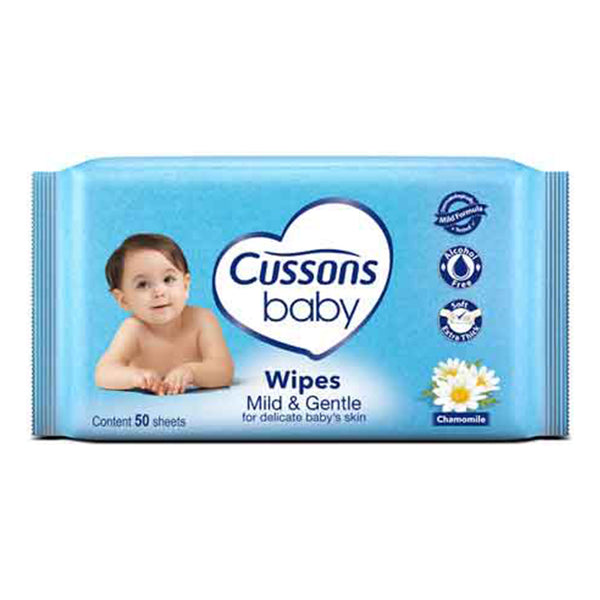 Cussons Mild & Gentle Baby Wipes