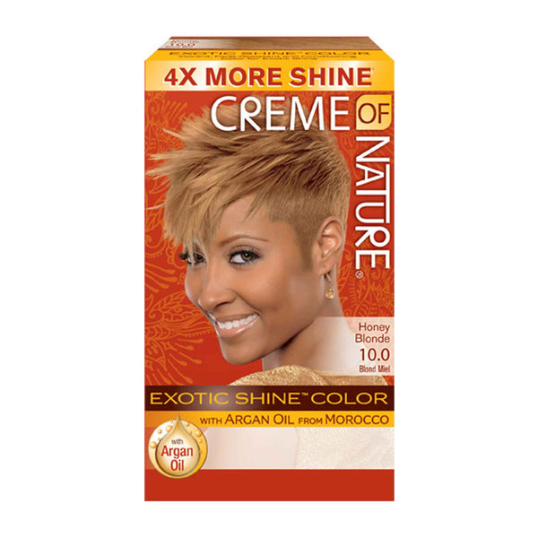 Crème Of Nature Exotic Exotic Shine Color Honey Blonde 10.0