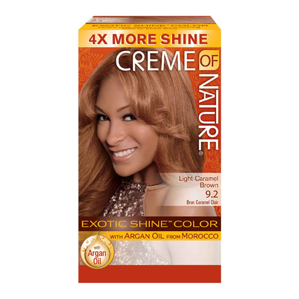 EXOTIC SHINE™ COLOR WITH ARGAN OIL FROM MOROCCO-9.2 Light Caramel
