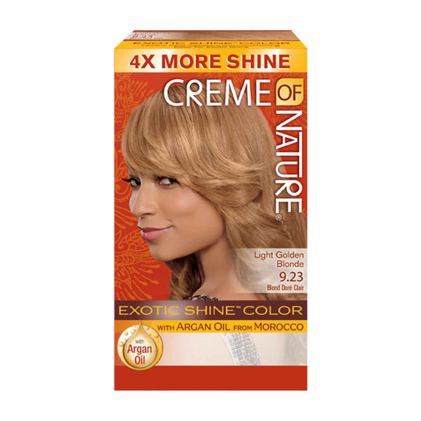 Crème Of Nature Exotic Exotic Shine Color Light Golden Blonde 9.23