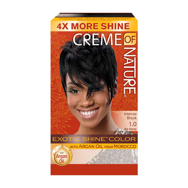 EXOTIC SHINE™ COLOR WITH ARGAN OIL FROM MOROCCO- 1.0 Intense Black