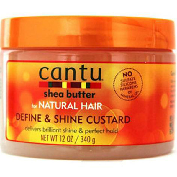 Cantu Shea Butter Define And Shine Custard 12oz