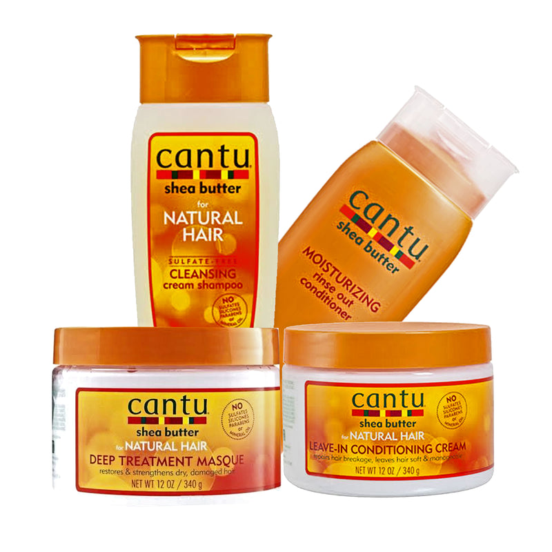 Cantu Natural Hair 4-pc Set