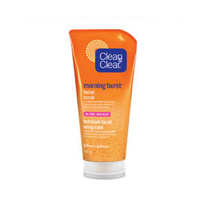 Clean and Clear Share Morning Burst Detoxifying Facial Scrub 141g