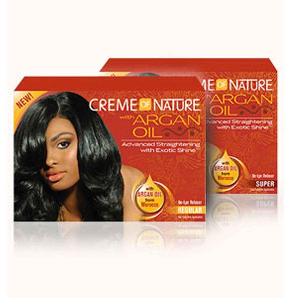 Crème Of Nature Argan Oil Relaxer
