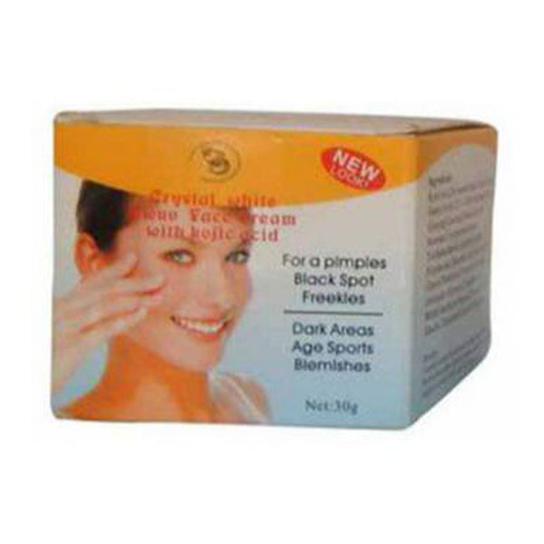 Crystal White Ewuv Face Cream With Kojic Acid 30g