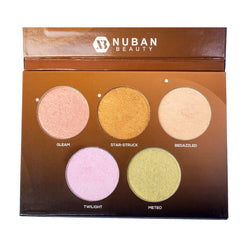 Nuban D'Glow Palette Highlighter
