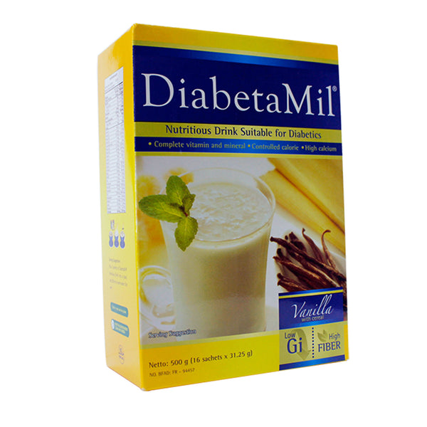 Nutritious Drink Suitable for Diabetes